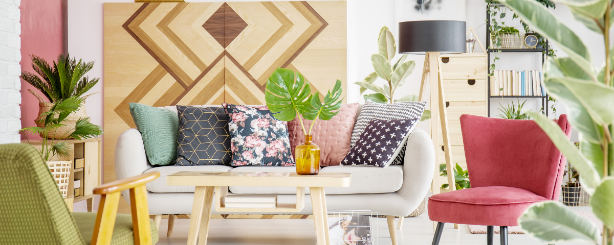How To Layer Patterns in The Living Room